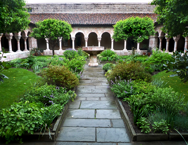 The cloisters thechangingpalette for Garden design versailles