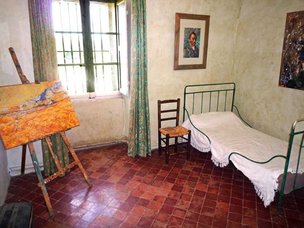 Van Gogh Painting From Asylum Room