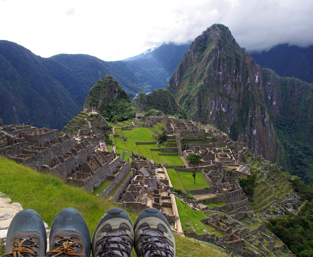 boots Matchu Picchu