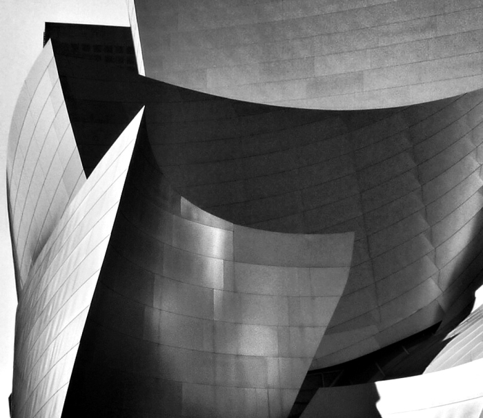 The Walt Disney Concert Hall, Los Angeles designed by Frank Gehry