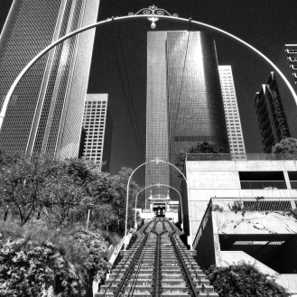 Angels Flight b&w