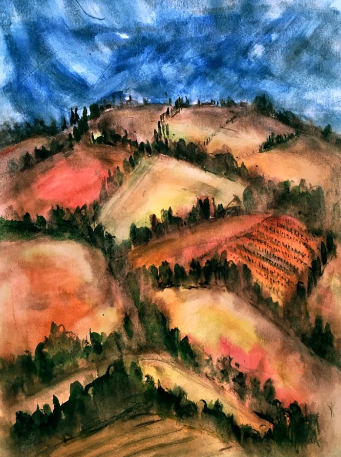 Tuscan hill ii