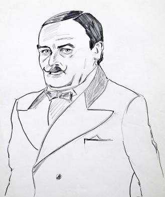 7-David Suchet as Hercule Poirot